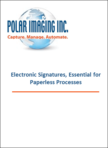 E-signatures: Essential for paperless processes