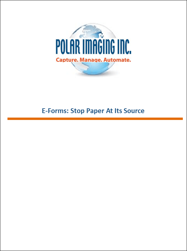 E-forms: Stop paper at it's source