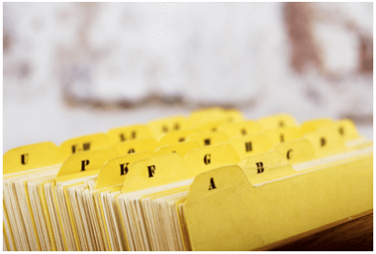 document scanning; paper files